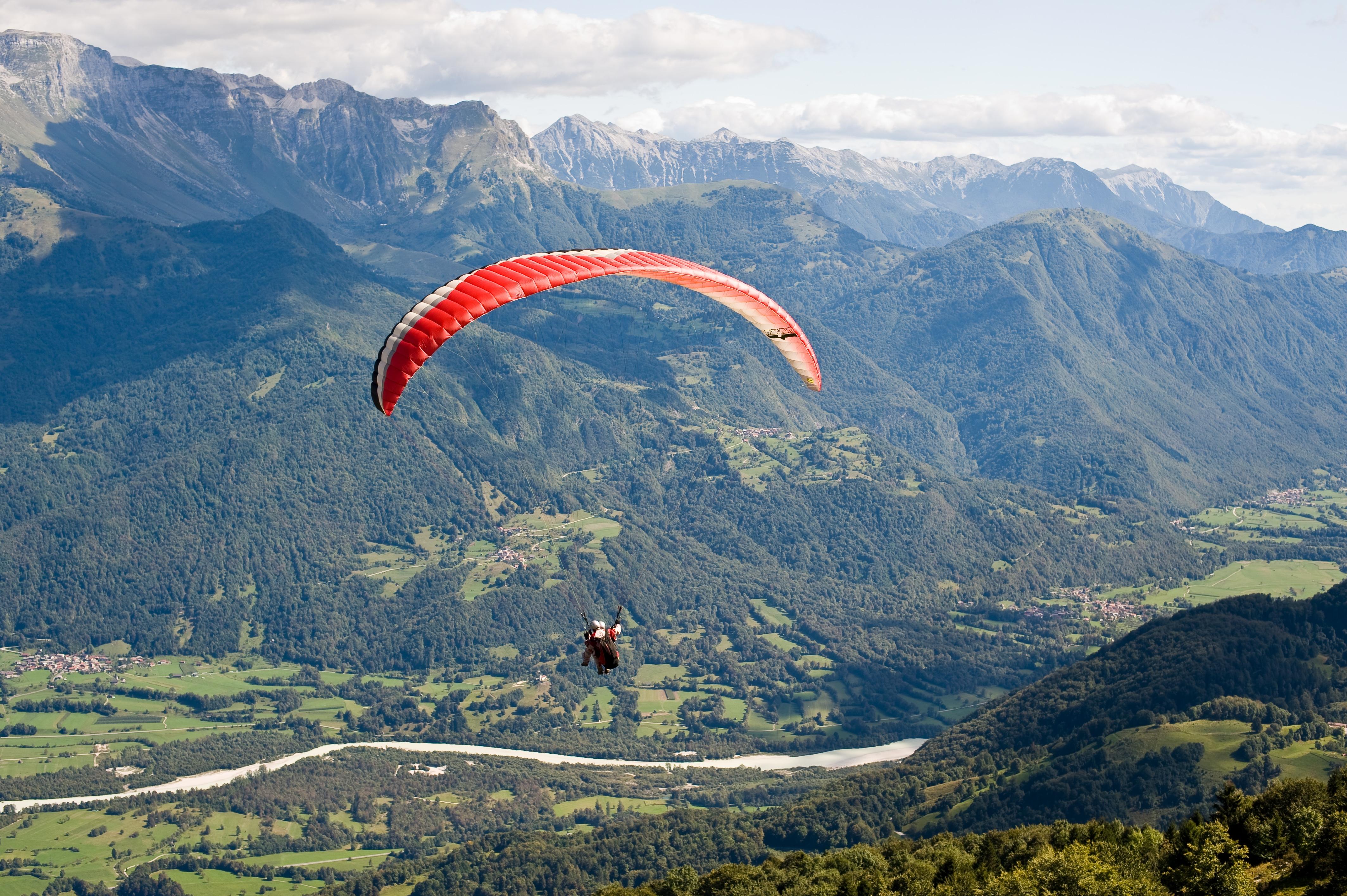 paragliding tandem | X POINT d.o.o. – Sports tourism